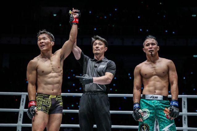 Dae Sung Park, Yoshinori Umeki, Kimihiro Eto (© ONE Championship)