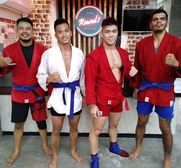 Jerry Legaspi, Jan Rebong, Mark Striegl, Patrick dos Santos