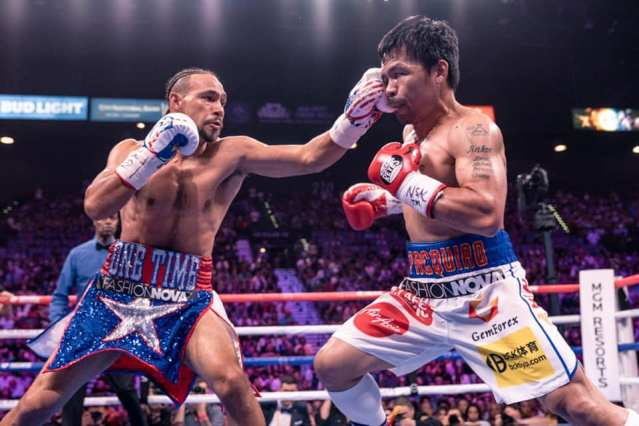 Keith Thurman, Manny Pacquiao