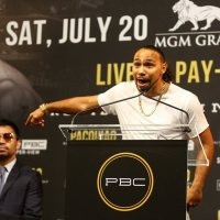 Keith Thurman: Manny Pacquiao is not a welterweight