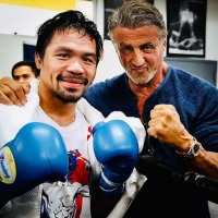 'Rambo: Last Blood' star Sylvester Stallone congratulates Manny Pacquiao on breaking Keith Thurman's undefeated record