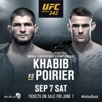 'UFC 242' fight card: Khabib Nurmagomedov vs Dustin Poirier, Edson Barboza vs Paul Felder