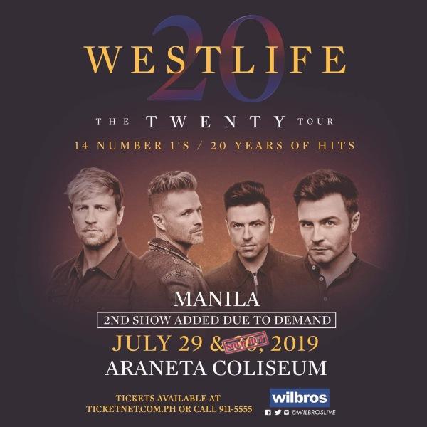 Westlife The Twenty-Four