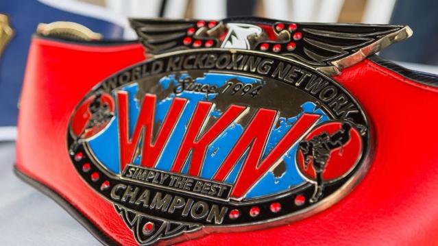 WKN Championship belt (© Glòria Marfil Blay)