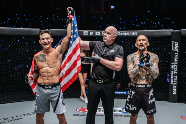 Thanh Le, Olivier Coste, Kotetsu Boku (©ONE Championship)
