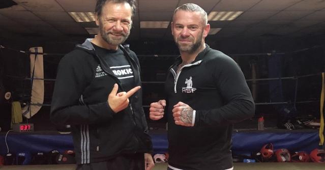 Billy Murray, Gary Hamilton (©World Kickboxing Network)