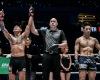 Martin Nguyen, Olivier Coste, Koyomi Matsushima (© ONE Championship)