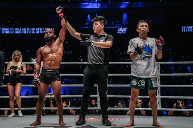 Demetrious Johnson, Kemp Cheng, Tatsumitsu Wada (©ONE Championship)