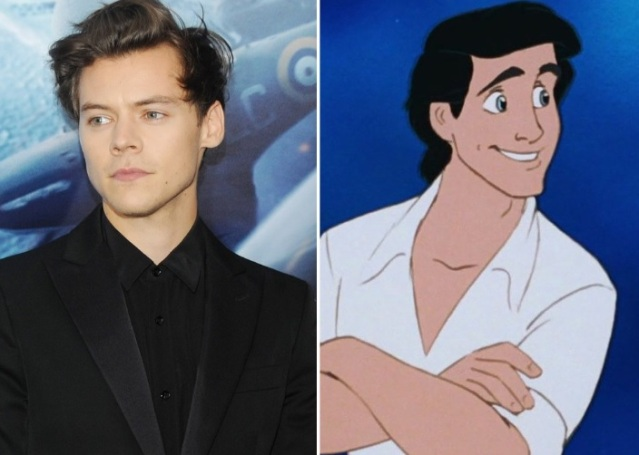 Harry Styles, Prince Eric