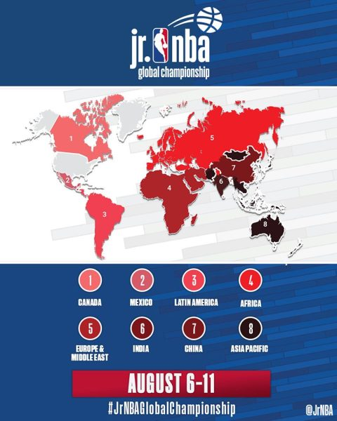 Jr NBA Global Championship