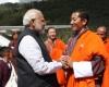 Narendra Modi, Lotay Tshering