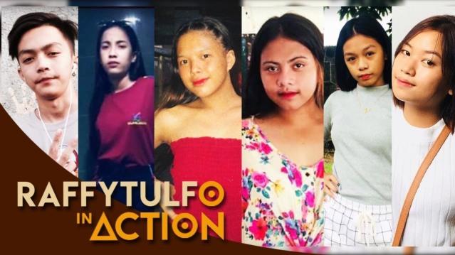 Nickole Gamboa, Angelika Tumang, Michaela Catacutan, Winang Sultan, Abby Calara, Honey Faye Catanghal