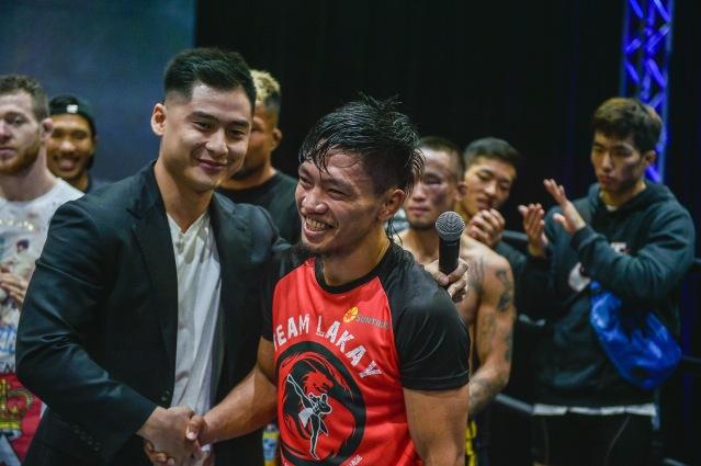 Jonathan Fong, Lito Adiwang (© ONE Championship)