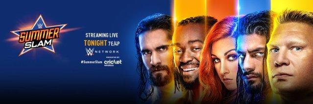 Seth Rollins, Kofi Kingston, Charlotte Flair, Finn Balor, Brock Lesnar
