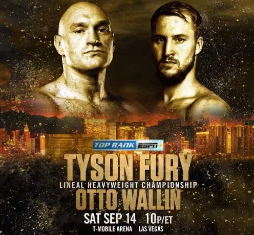 Tyson Fury, Otto Wallin