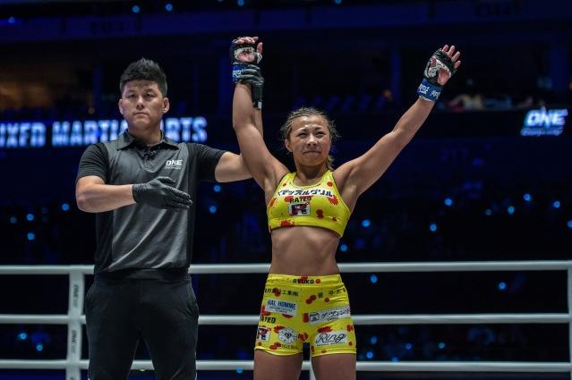 Kemp Cheng, Ayaka Miura (© ONE Championship)