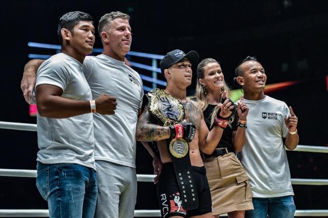 Aung La N Sang, Henri Hooft, Martin Nguyen, Brooke Nguyen, Tial Thang (© ONE Championship)
