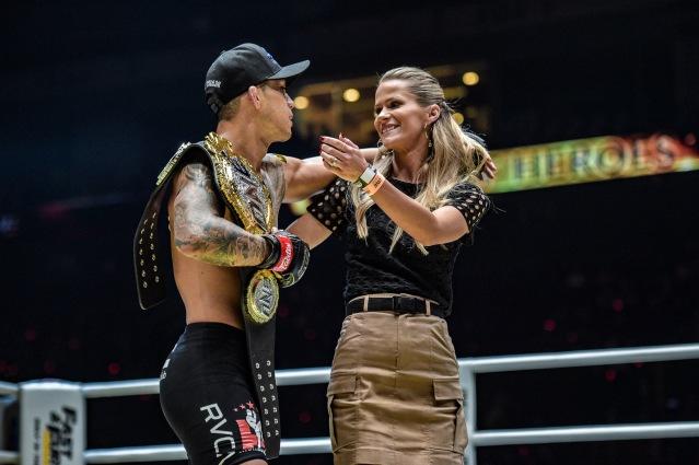 Martin Nguyen, Brooke Nguyen (© ONE Championship)