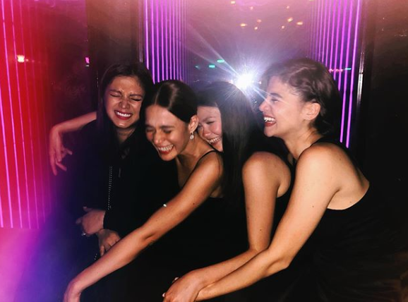 Angel Locsin, Bea Alonzo, Angelica Panganiban, Anne Curtis