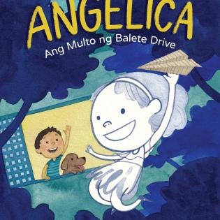 'Angelica, Ang Multo ng Balete Drive' book cover
