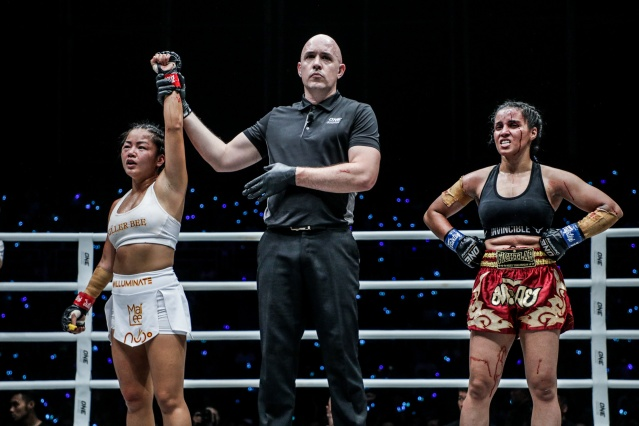 Bi Nguyen, Olivier Coste, Puja Tomar (©ONE Championship)