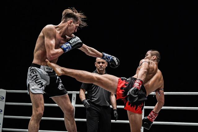 Brice Delval, Elias Dolaptsis, Nong-O Gaiyanghadao (©ONE Championship)