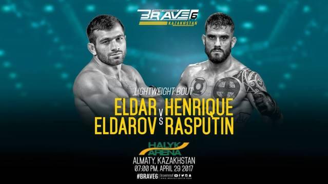Eldar Eldarov, Henrique Rasputin