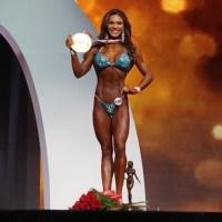 Brazil's Elisa Pecini is 2019 Bikini Olympia Champion