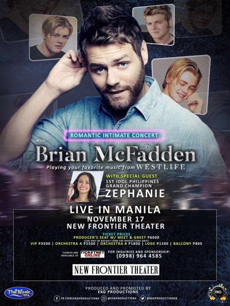 Brian McFadden, Zephanie Dimaranan