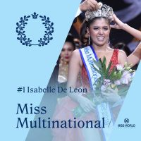 Isabelle de Leon crowned Miss Multinational Philippines 2019 by Kimi Mugford