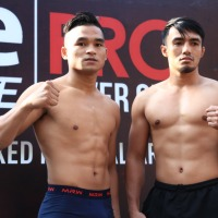 'One Pride MMA Fight Night 32: Spirit of Champions' weigh-in results: Jeka Saragih vs Mhar John Manahan