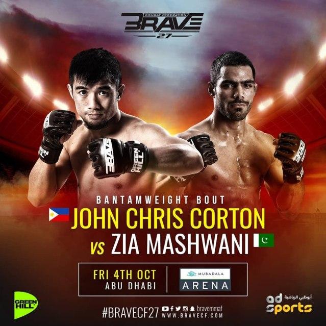 Jon Chris Corton, Zia Mashwani
