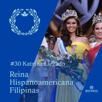 Tagiuig's Maria Katrina Llegado crowned Reina Hispanoamericana Filipinas 2019 by Alyssa Muhlach Alvarez