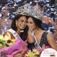 Miss International 2016 Kylie Versoza spits on Miss Universe Philippines 2016 Maxine Medina
