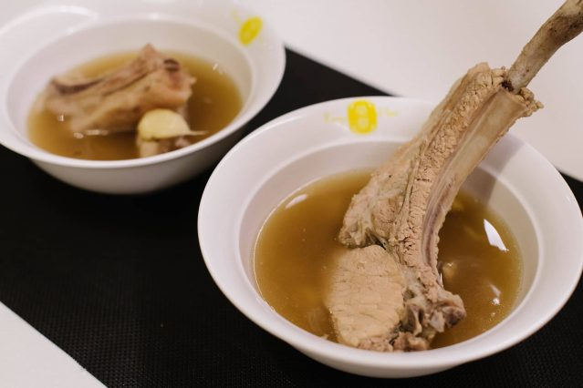 Rong Hua Bak Kut Teh's pork rib soup
