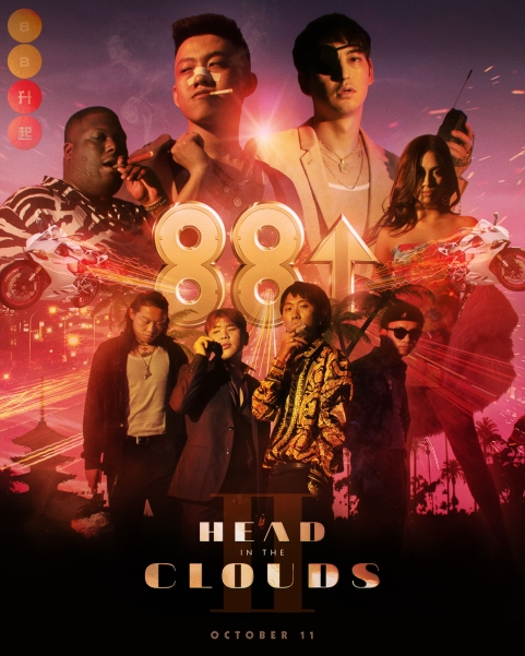 'Head in the Clouds' poster