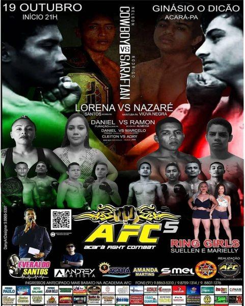 'Acara Fighting Combat 5' poster