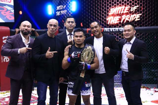 Aep Saefudin (center) (©One Pride Pro Never Quit)