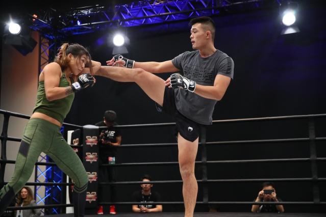 Angela Lee, Christian Lee (©ONE Championship)