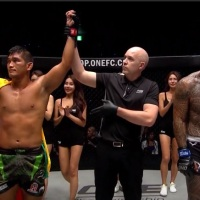 Myanmar's Aung La N Sang is still ONE Light Heavyweight World Champion, knocks out Brandon Vera at 'ONE: Century 世紀' in Japan