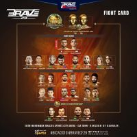 'BRAVE CF 29' fight card: Hamza Kooheji vs Nahuel Gandolfi, KHK World Championship in Isa Town, Bahrain
