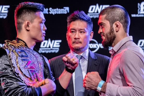 Christian Lee, Chatri Sityodtong, Saygid Guseyn Arslanaliev (©ONE Championship)
