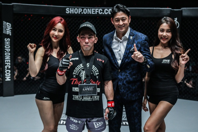 Yosuke Saruta, Andy Hata (©ONE Championship)