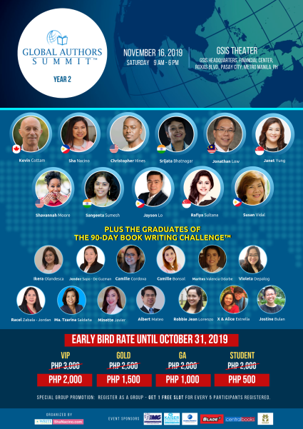 Global Authors Summit 2019