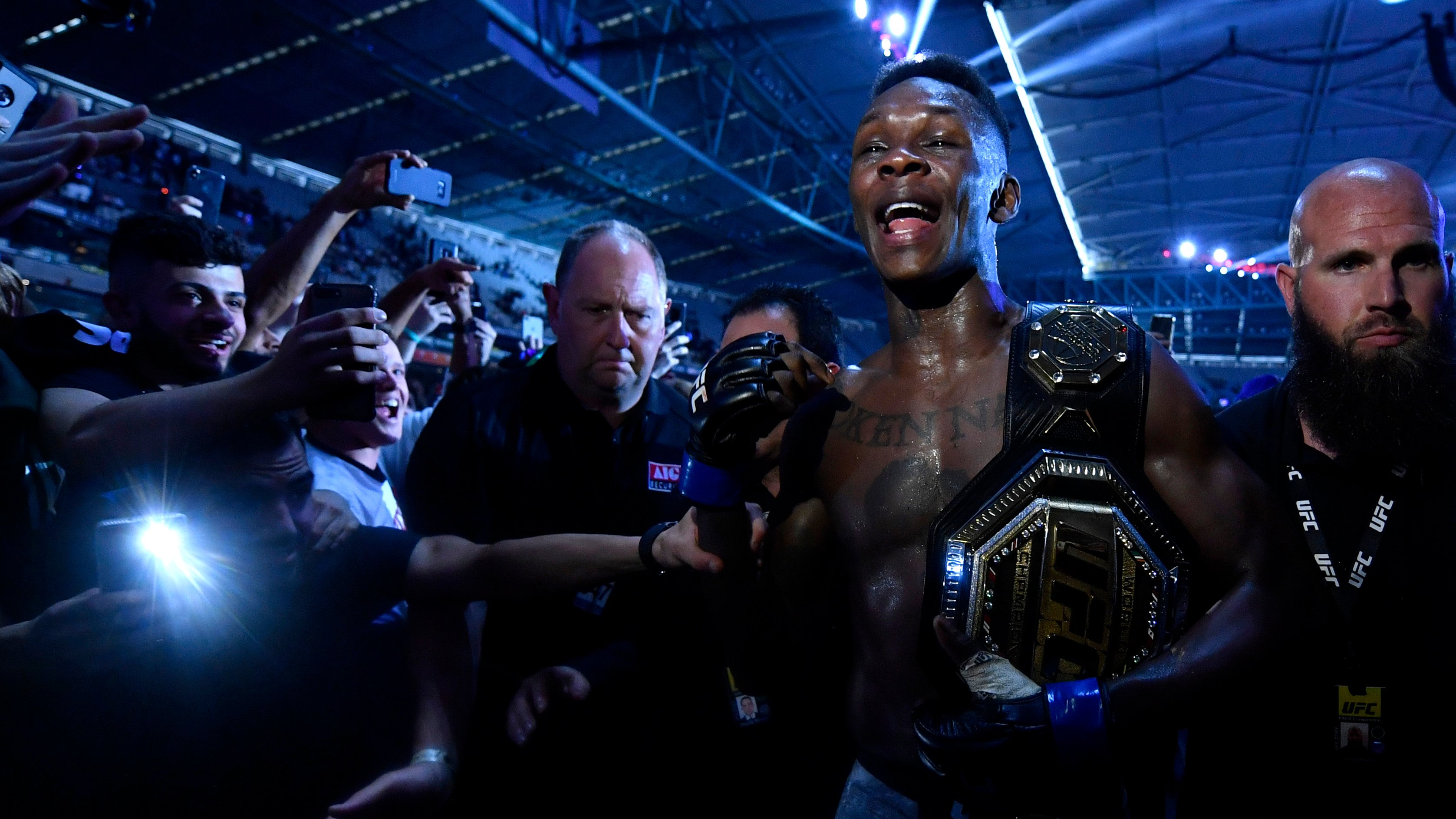 Nigeria S Israel Adesanya Is New Ufc Middleweight Champion