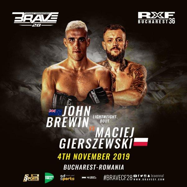 John Brewin, Maciej Gierszewski