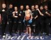 Johny Smith (center) (©World Kickboxing Network)