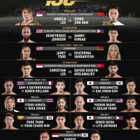 'ONE: Century' part 1 fight card: Angela Lee vs Xiong Jing Nan, Demetrious Johnson vs Danny Kingad in Tokyo, Japan