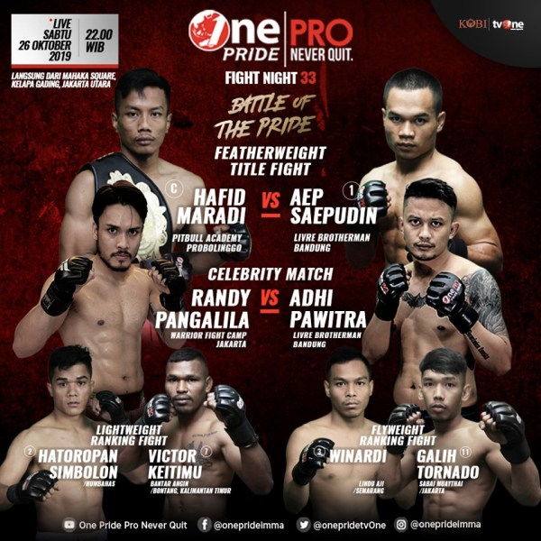 One Pride MMA Fight Night 33