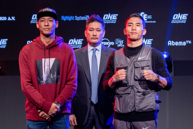 Phoe Thaw, Chatri Sityodtong, Yoon Chang Min (© ONE Championship)